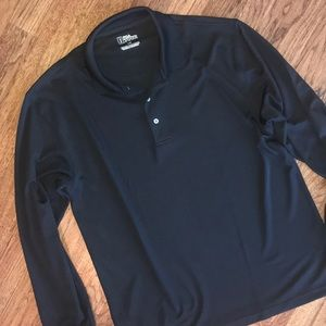 PGA Tour Long Sleeve Polo